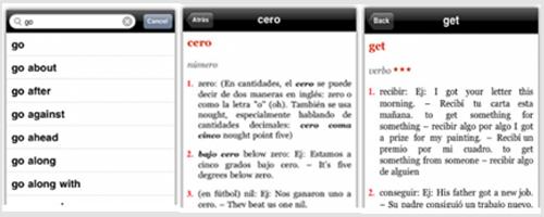 app diccionario en inglés