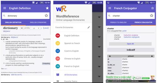 Wordreference app diccionario inglés